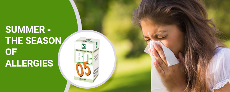 Summer - The Season of Allergies