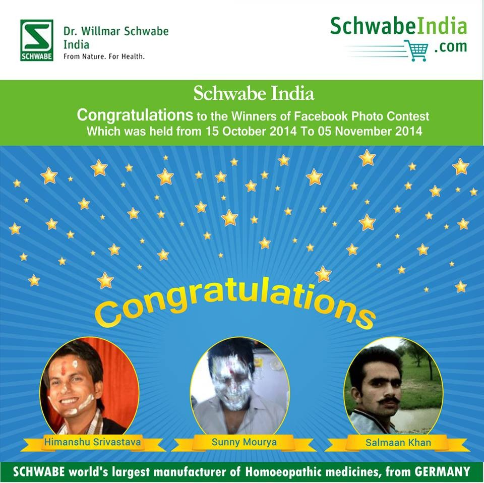 Schwabe India Laughter Contest Winner Announced