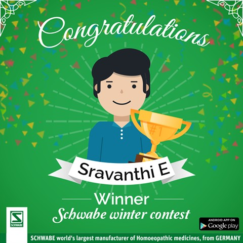 Schwabe India Winter Contest Result is Out